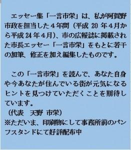 エッセー集コメント2
